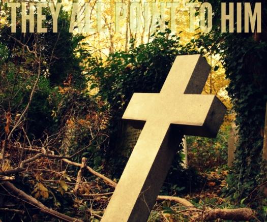 leaning crosses